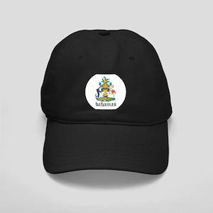 Bahamian Coat of Arms Seal Black Cap