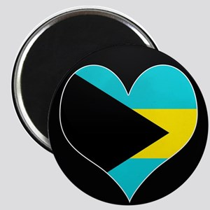 I love Bahamas Flag Magnet