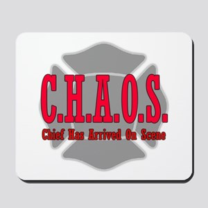 CHAOS Chief Has Arrived on Sc Mousepad