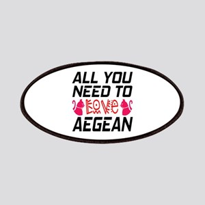 All You Need To Love aegean Cat Patch