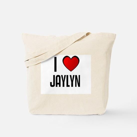 I LOVE JAYLYN Tote Bag