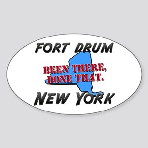 fort drum new york - been there, done that Sticker