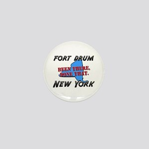 fort drum new york - been there, done that Mini Bu