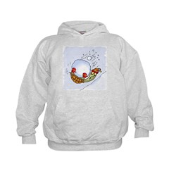Turtle Snowball Fun Hoodie