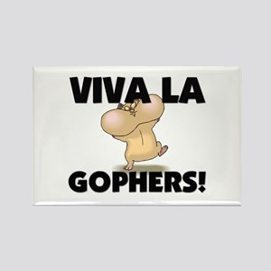Viva La Gophers Rectangle Magnet