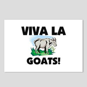 Viva La Goats Postcards (Package of 8)