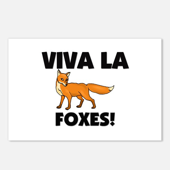 Viva La Foxes Postcards (Package of 8)
