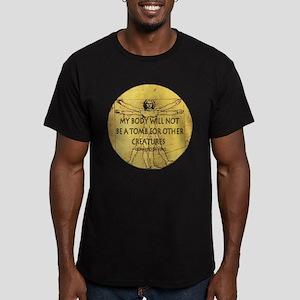 Body Tomb Men's Fitted T-Shirt (dark)