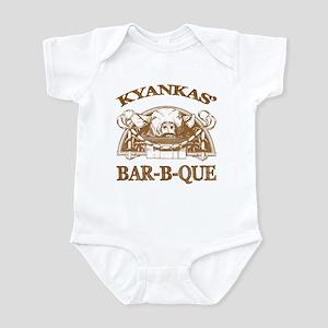 Kyankas' Family Name Vintage Barbeque Infant Bodys