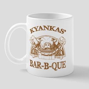 Kyankas' Family Name Vintage Barbeque Mug