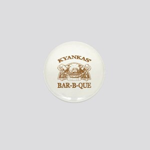 Kyankas' Family Name Vintage Barbeque Mini Button