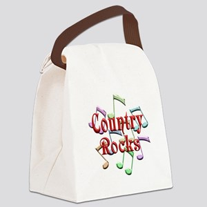 Country Rocks Canvas Lunch Bag