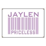 Jaylen Custom Priceless Barcode Banner
