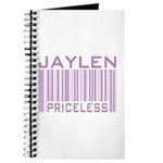Jaylen Custom Priceless Barcode Journal