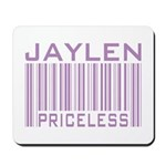 Jaylen Custom Priceless Barcode Mousepad
