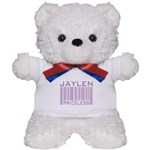 Jaylen Custom Priceless Barcode Teddy Bear