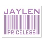 Jaylen Custom Priceless Barcode Small Poster