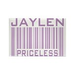 Jaylen Custom Priceless Barcode Rectangle Magnet (