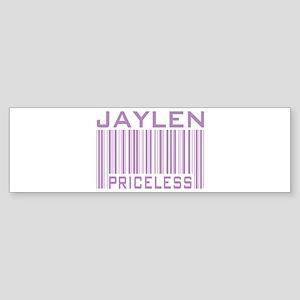 Jaylen Custom Priceless Barcode Bumper Sticker