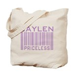 Jaylen Custom Priceless Barcode Tote Bag
