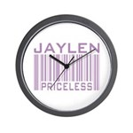Jaylen Custom Priceless Barcode Wall Clock