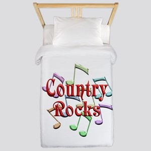 Country Rocks Twin Duvet Cover