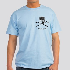 Puke N Snot I Drink Light T-Shirt