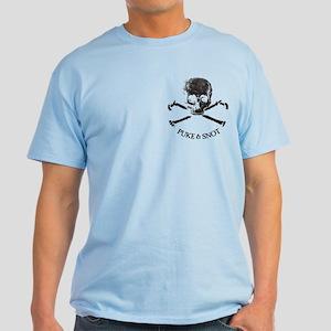 Puke N Snot Reality Light T-Shirt
