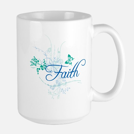 Faith Large Mug