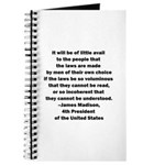 Quote of James Madison Journal