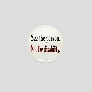 See the person... Mini Button