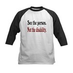 See the person... Kids Baseball Jersey