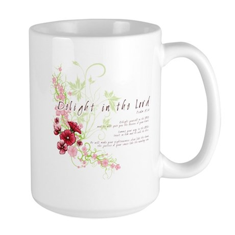 Delight in the Lord Large Mug