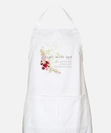 Delight in the Lord BBQ Apron