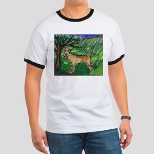Irish Terrier spring whimsica Ringer T