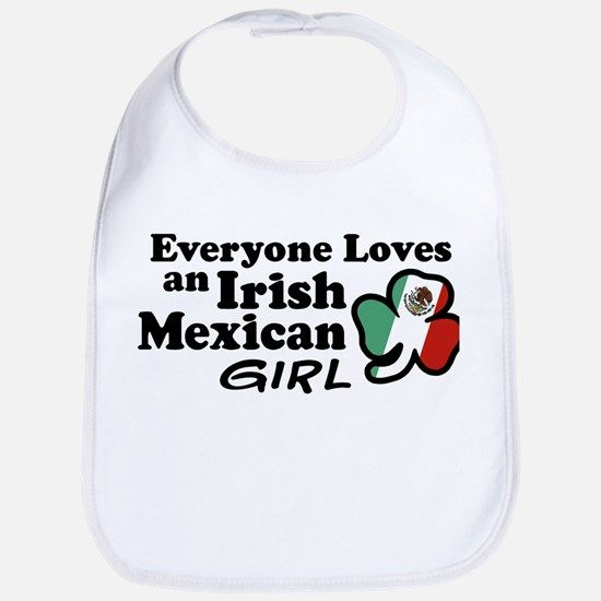 Irish Mexican Girl Bib