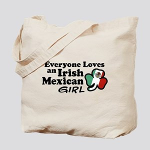 Irish Mexican Girl Tote Bag
