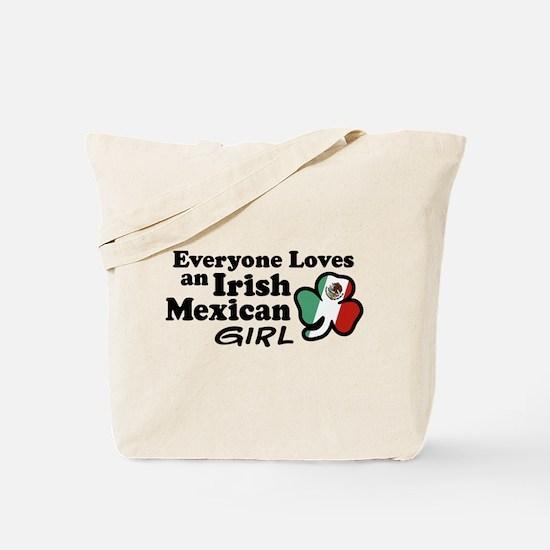Irish Mexican Girl Tote Bag
