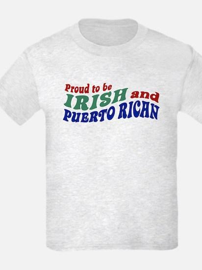 Proud Irish Puerto Rican T-Shirt