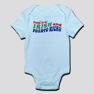 Proud Irish Puerto Rican Infant Bodysuit