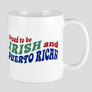Proud Irish Puerto Rican Mug