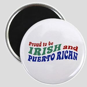 Proud Irish Puerto Rican Magnet