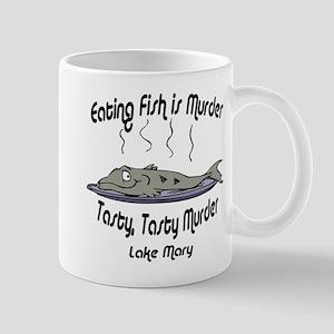 Eating Fish is Murder Mug