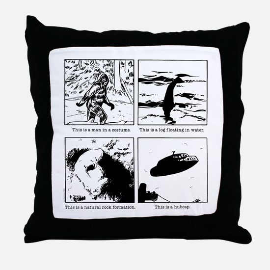 This is a... Throw Pillow