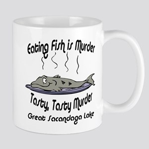 Eating Fish is Murder Mug