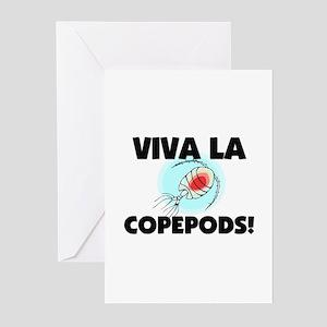 Viva La Copepods Greeting Cards (Pk of 10)