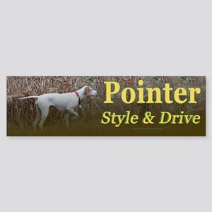 Corwyn Pointer Style & Drive Bumper Sticker