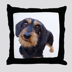 Wired Haired Throw Pillow