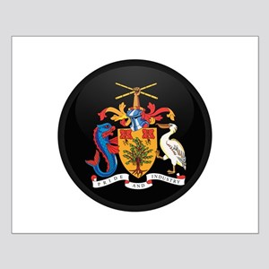 Coat of Arms of Barbados Small Poster