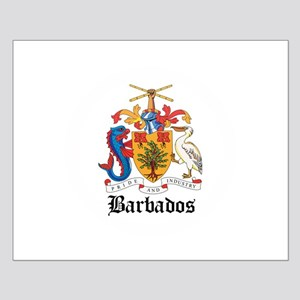 Barbadian Coat of Arms Seal Small Poster